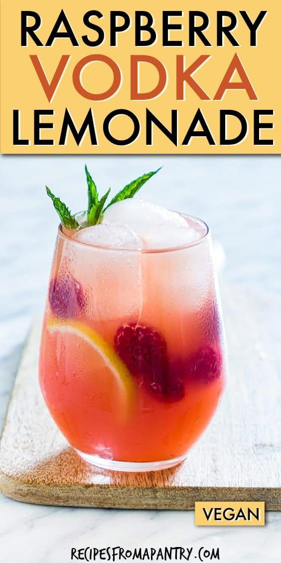 Photo of Raspberry Vodka Lemonade | Recipes From A Pantry