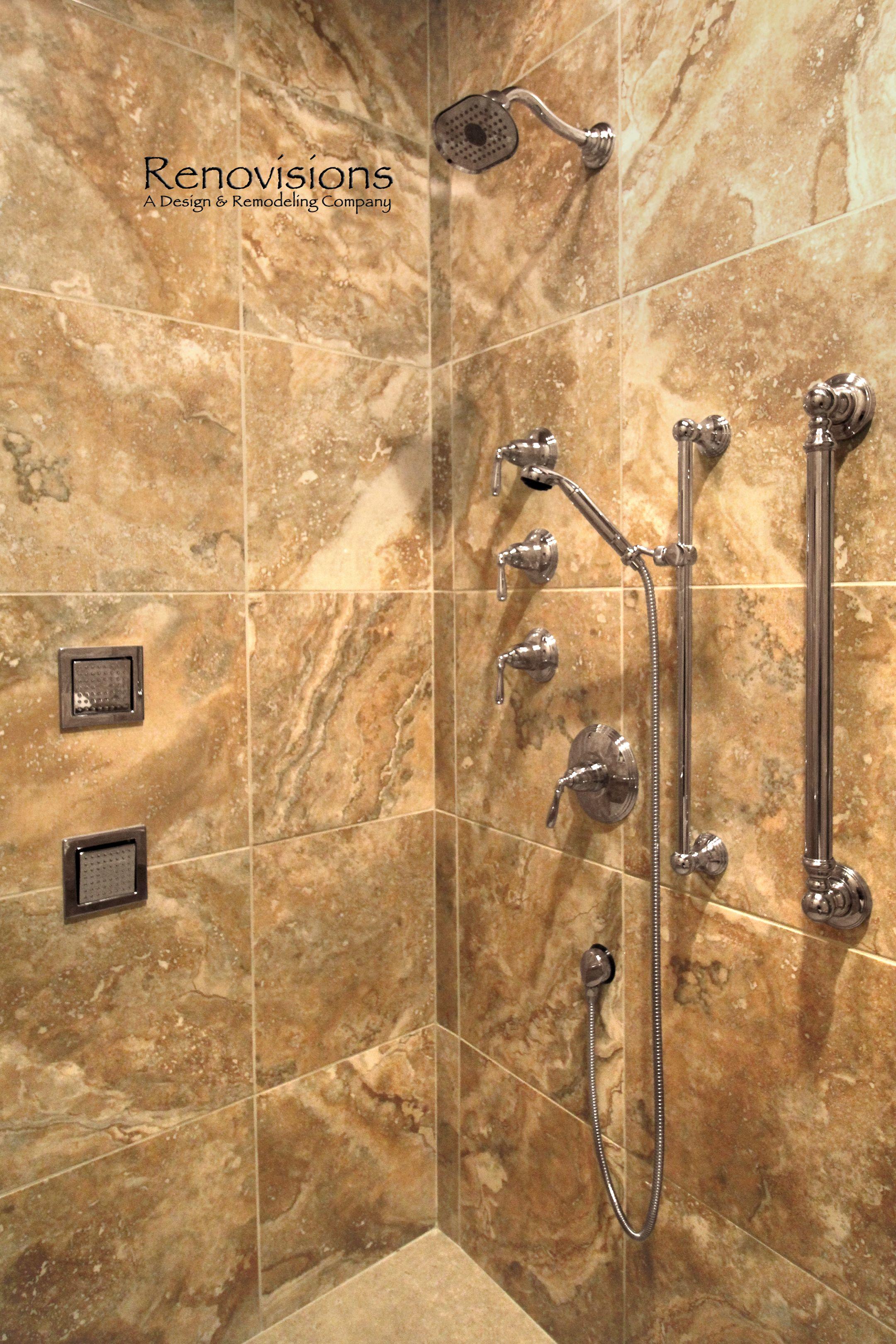 Master Bathroom Remodel By Renovisions