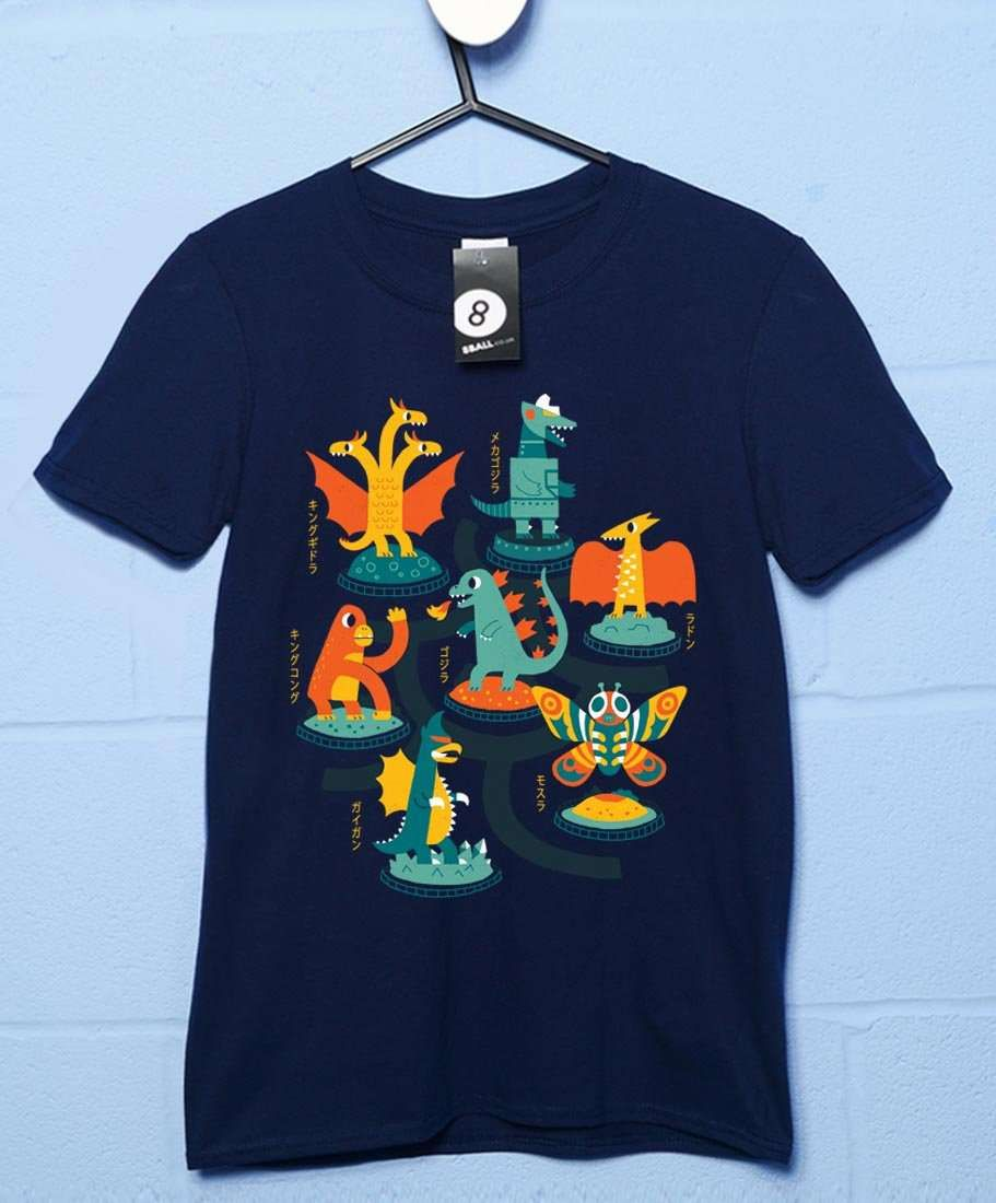 Tokyo Zoo T Shirt - Navy / XL