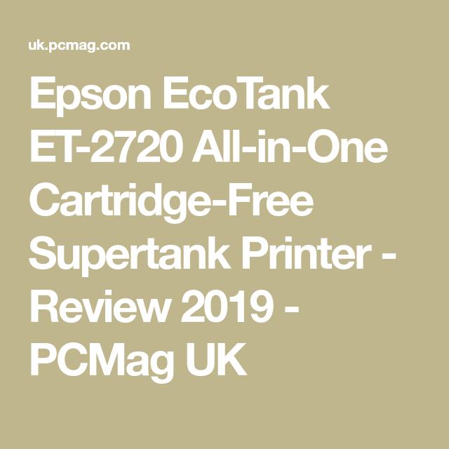 Epson Ecotank Et 2720 All In One Cartridge Free Supertank Printer Epson Ecotank Printer Hp Officejet Pro