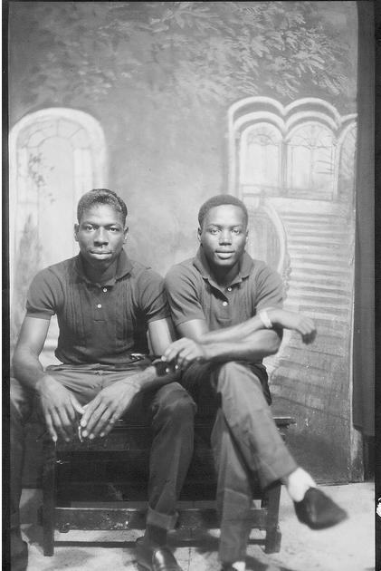 Vintage gay couple black — img 2
