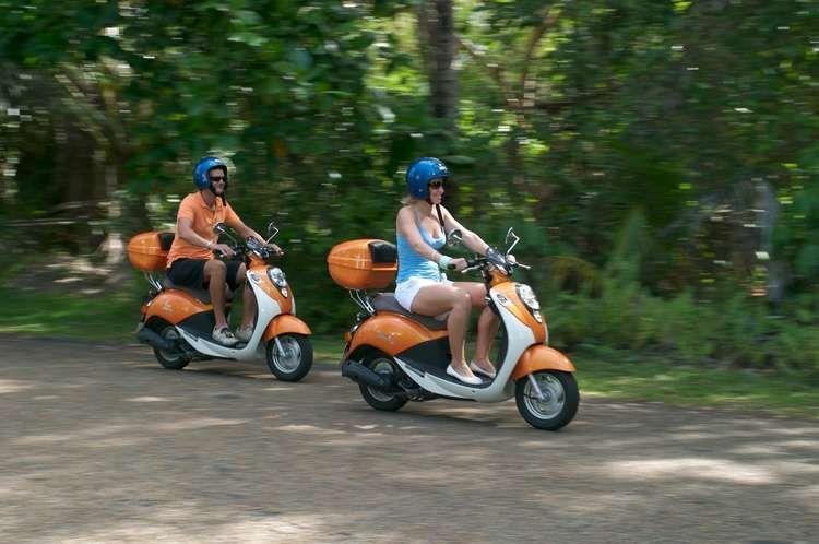 Hire a scooter to get out and about in Port Douglas #portdouglasdaintree #exploreportdouglas #queenslandaustralia
