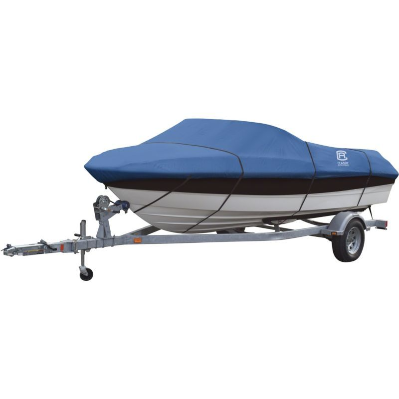 Classic Accessories StormPro Heavy-Duty Boat Cover for Utility//Fishing Boats