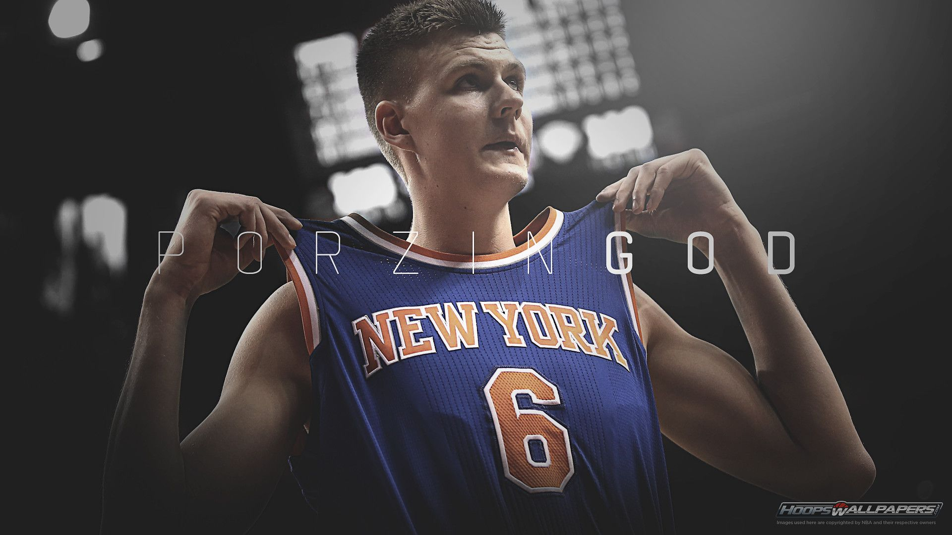 e1cdaae40 1920x1080 Kristaps Porzingis Knicks Wallpaper. Free NBA wallpapers at  HoopsWallpapers.com  Newest NBA and basketball .