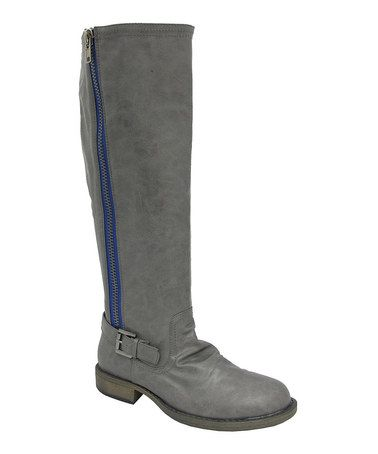 Take a look at this Gray Cheri-01 Boot by Yoki on #zulily today!