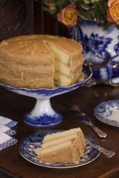caramel cake-- the old fashioned kind...oh yes!