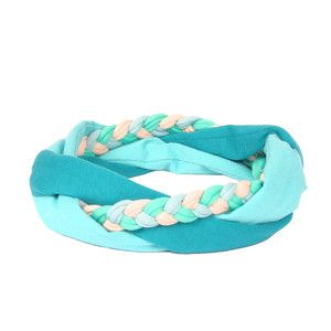 Mia Headband Green, 29€,  by SAAKO !!
