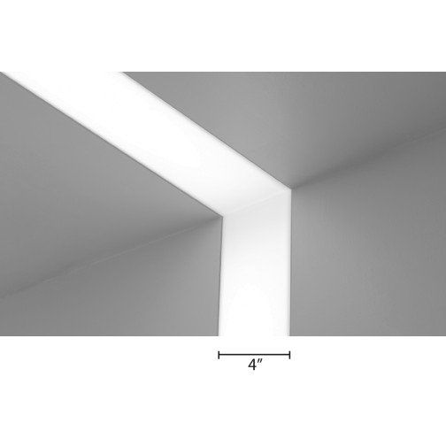 Alcon Lighting 14100 4 Legacy Iv Architectural Led Linear Recessed Ceiling To Wall Flangeless Light Strip Fixture Strip Lighting Recessed Ceiling