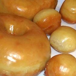Crispy and Creamy Doughnuts Allrecipes.com, Best recipe I have found