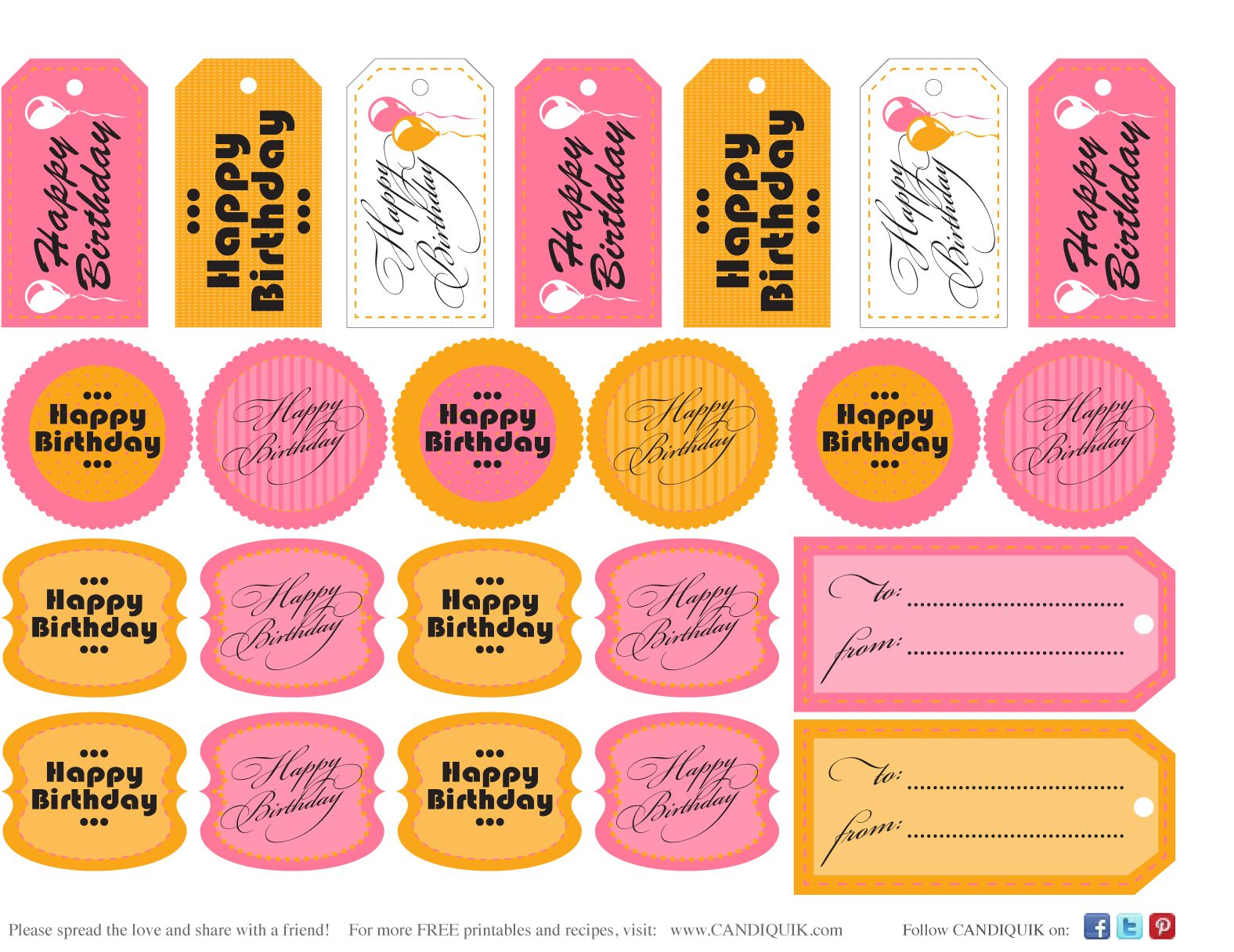 Birthdaygifttagspinkg 1 576 1 216 pixels card making free printable gift or treat tags for birthday from miss candiquik negle Image collections