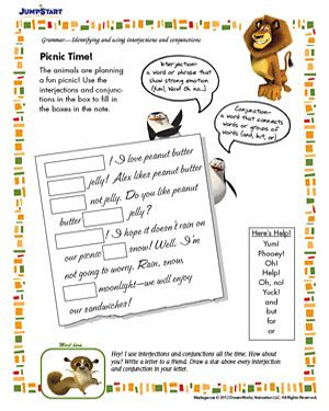 Picnic Time - Free English Worksheet for Kids | Alice idea ...