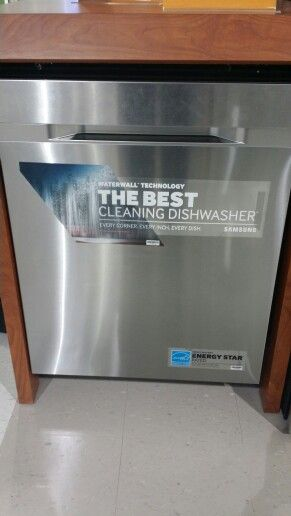 Just Bought This Samsung Dishwasher I Love The Waterfall Washing Effect Clean Dishwasher Samsung Dishwasher Dishwasher