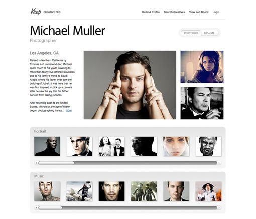 the best online portfolio service  three free options