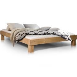 Pumba Massivholzbett ohne Kopfteil Fichte - 160 x 200 cm Möbel-Eins