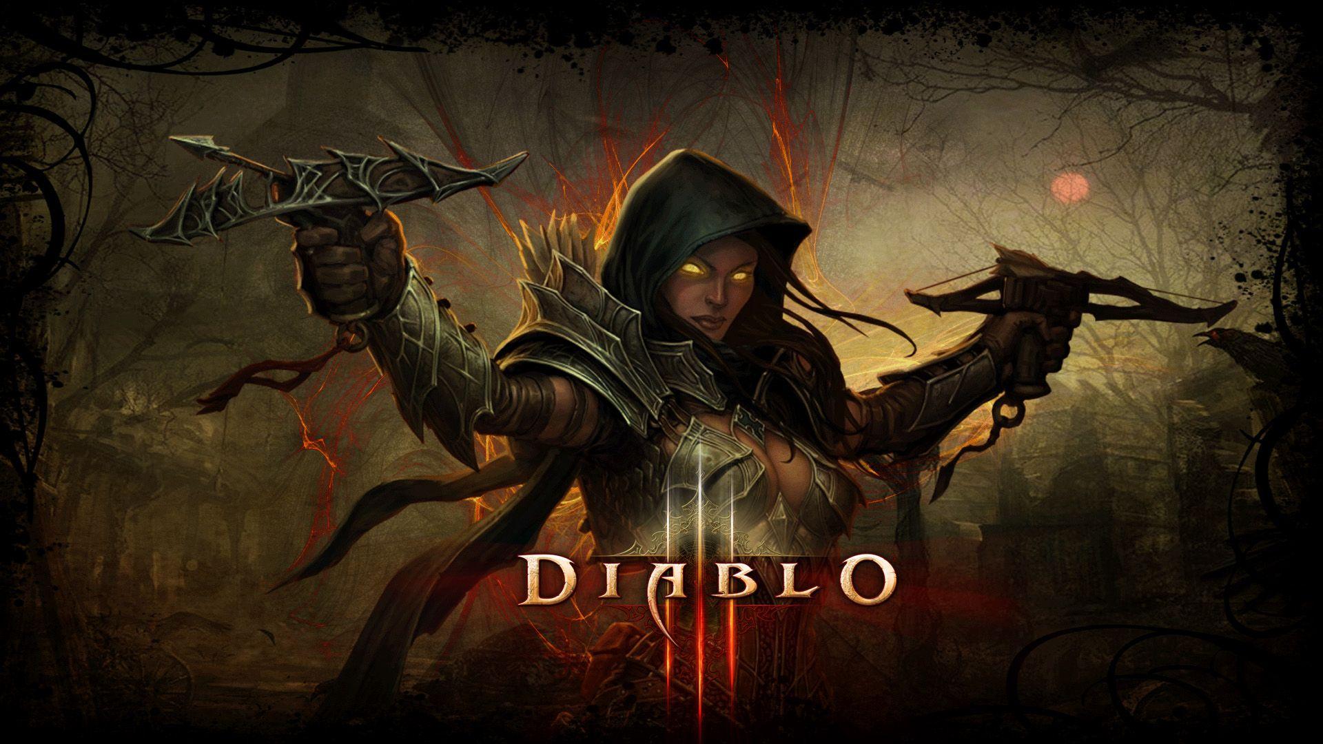 Diablo Iii Reaper Of Souls Demon Hunter Wallpaper Demon Hunter Demon Diablo