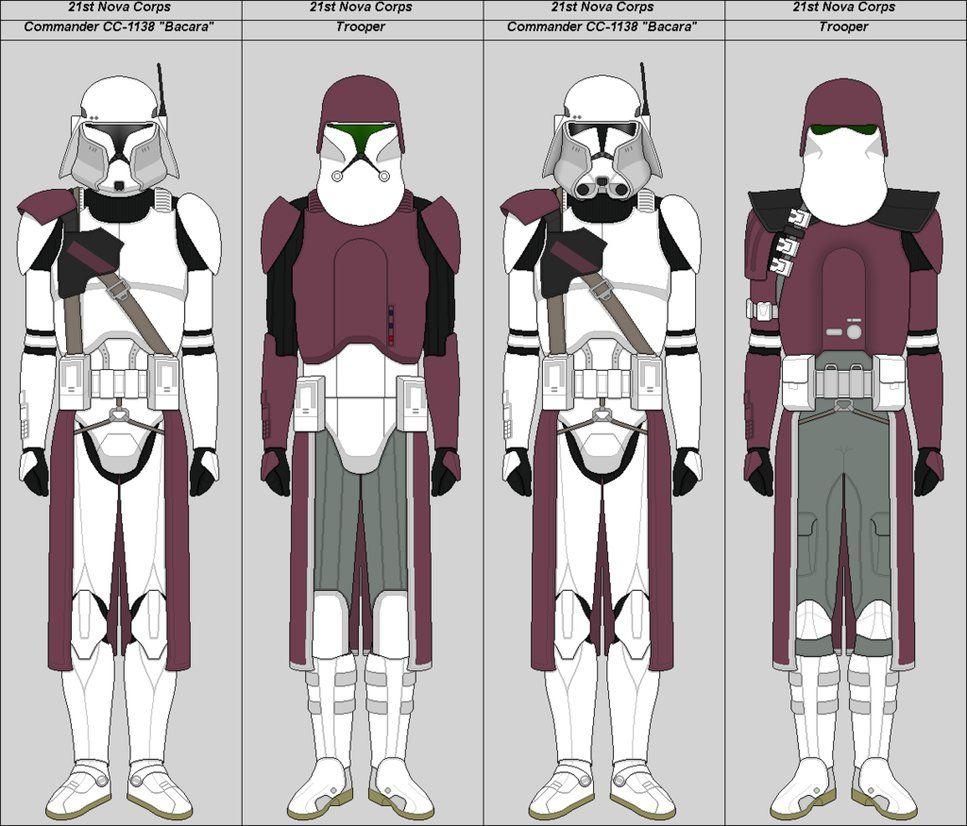 21st Nova Corps By Suddenlyjam Clone Trooper Armor Pinterest