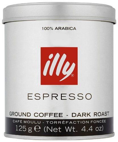 illy Espresso gemahlen SRstung dunkle Rstung 125g silberschwarze Banderole 1er Pack 1 x 125 g >>> Click image to review more details.