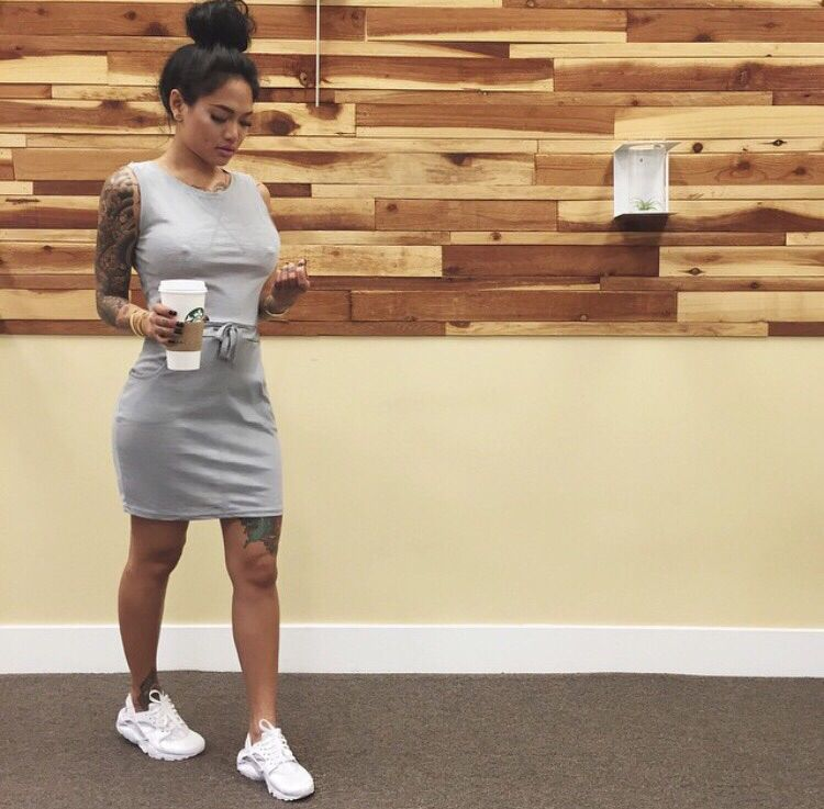 Huaraches And Gray Dress Outfit | Outfits | Pinterest | Huarache Gray Dress And Dress Outfits