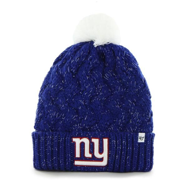 78cfcc596 New York Giants Fiona Cuff Knit Royal 47 Brand Womens Hat