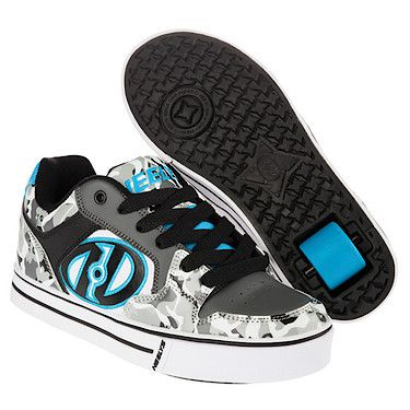Heelys X2 Grey Camo Motion Skate Shoes