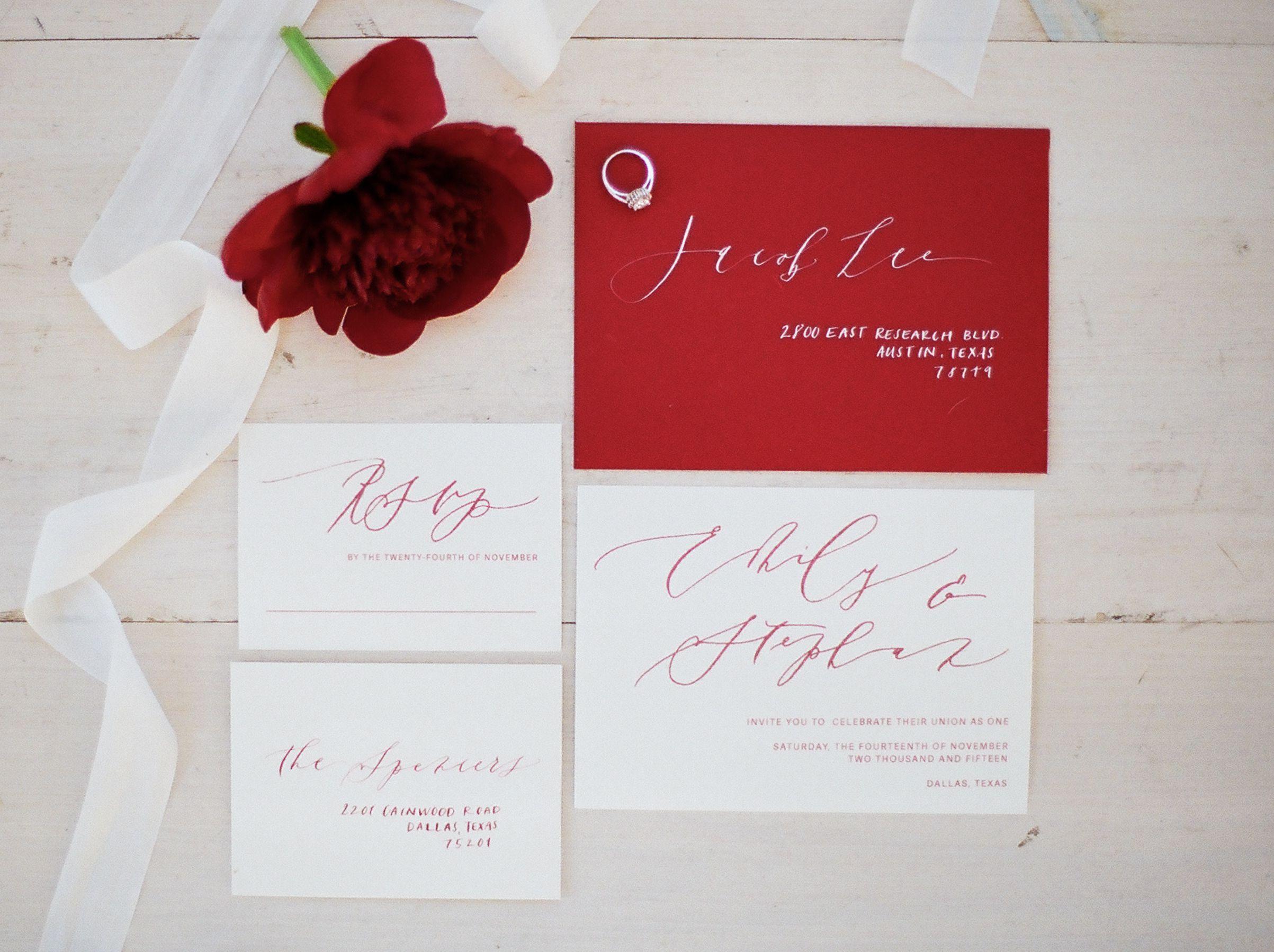 Perfect Wedding Invitations Austin Tx Image - Invitations and ...