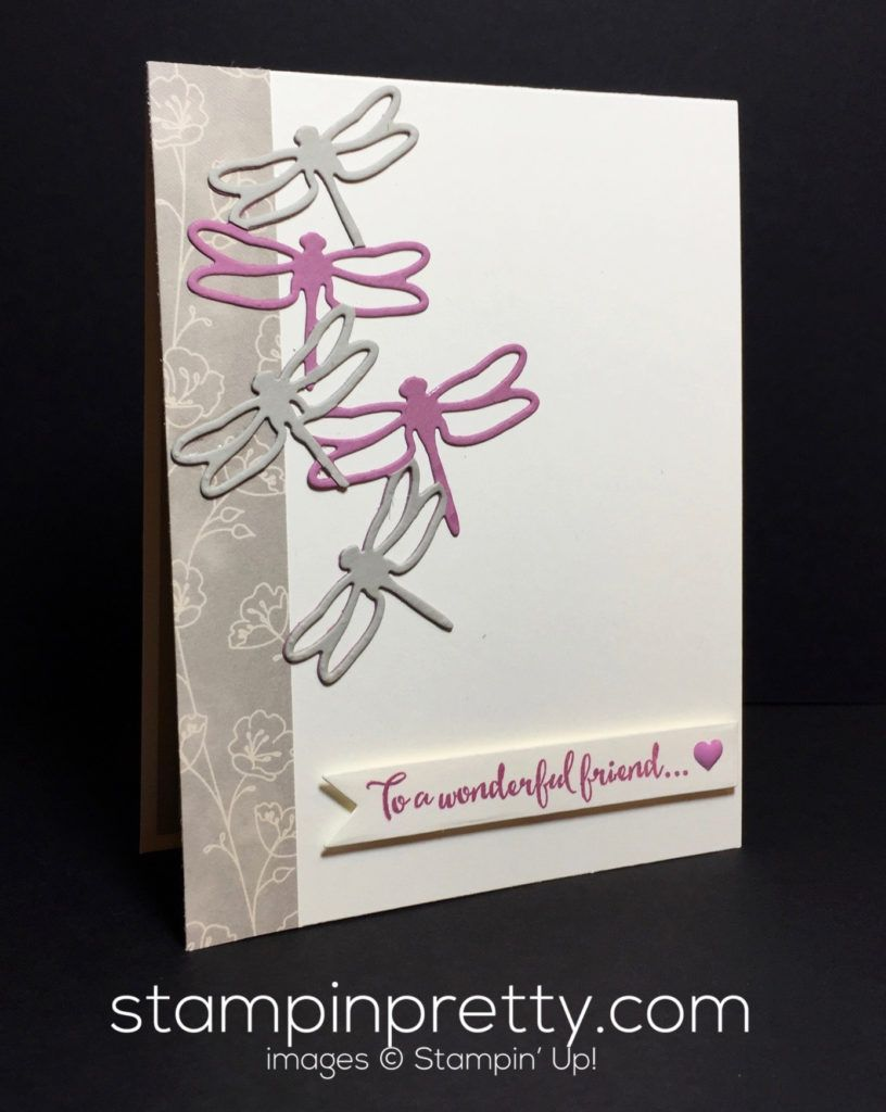 Stampin' Up! Detailed Dragonfly Thinlits
