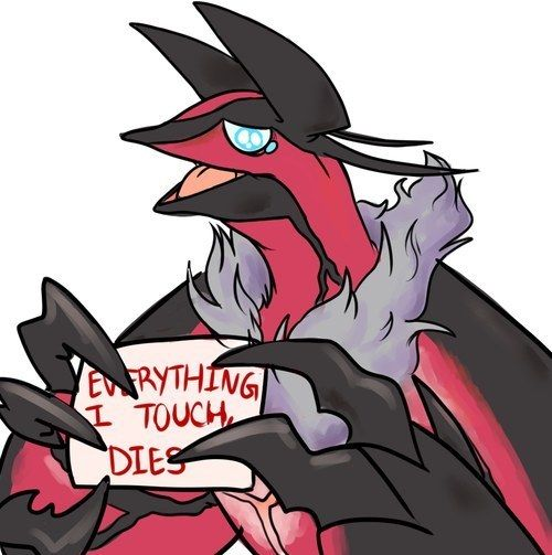 """And this Yveltal who's like, """"same."""" 