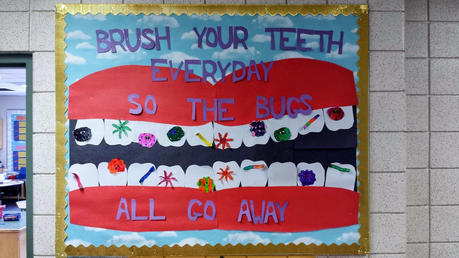 Im much more in love with my bulletin board this year