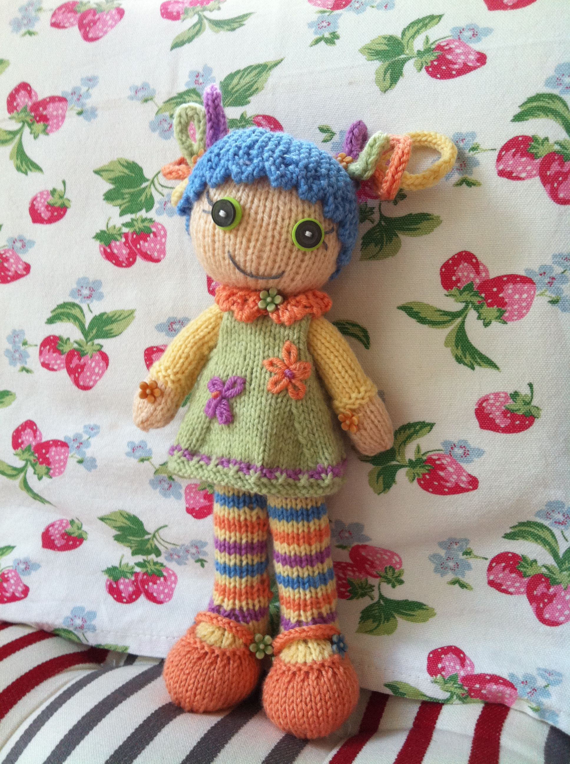 Hand Knit - Lalla (Precious) | My hand knit dolls and teddy bears ...