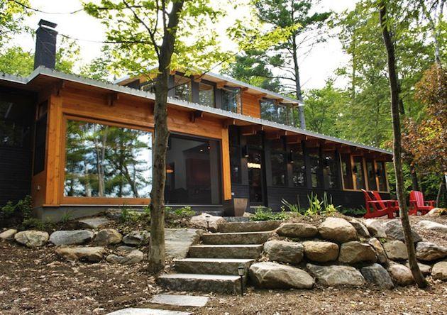 Seasonal Ontario Cabin by Altius Architecture 1