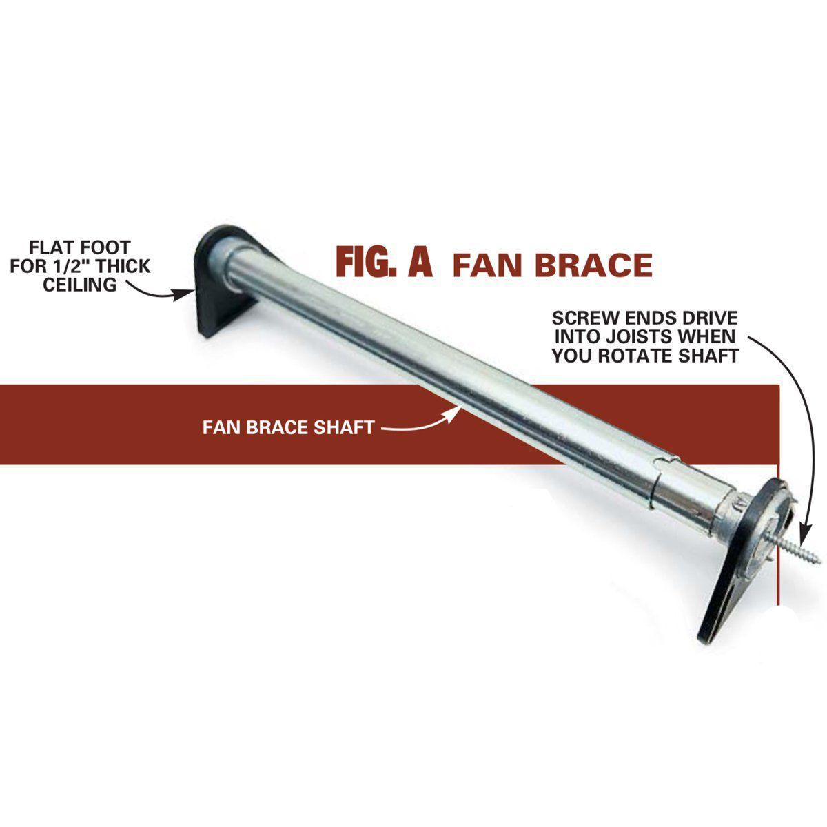 how to install ceiling fans fan installation diy ffm4000