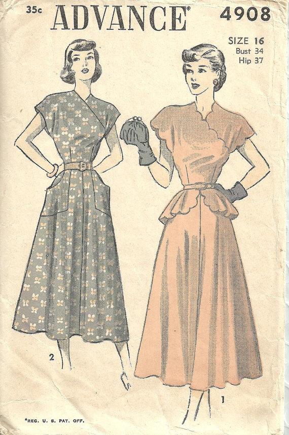 Vintage Dresses Size 16