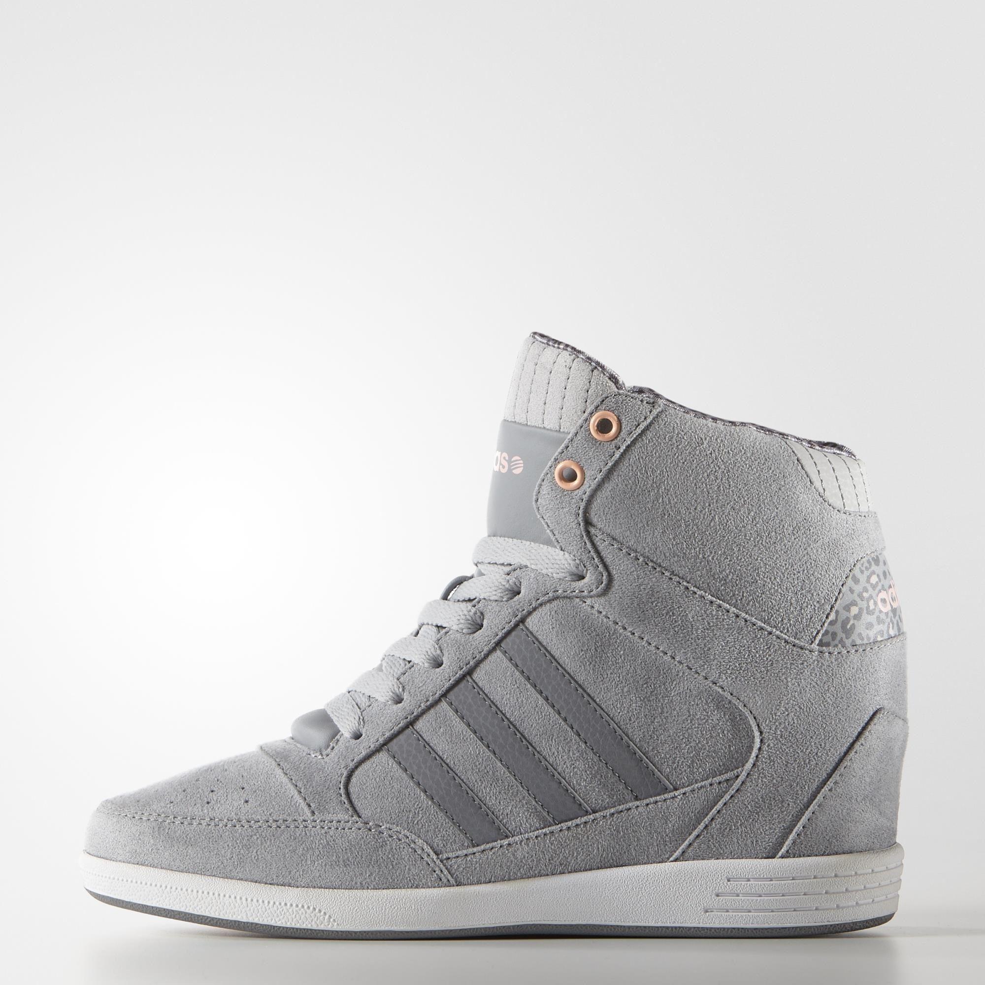 adidas WENEO Super Wedge Shoes - Grey | adidas US
