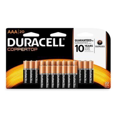 Duracell Coppertop 20 Pack Aaa Batteries Duracell Alkaline Battery Wine Making Equipment