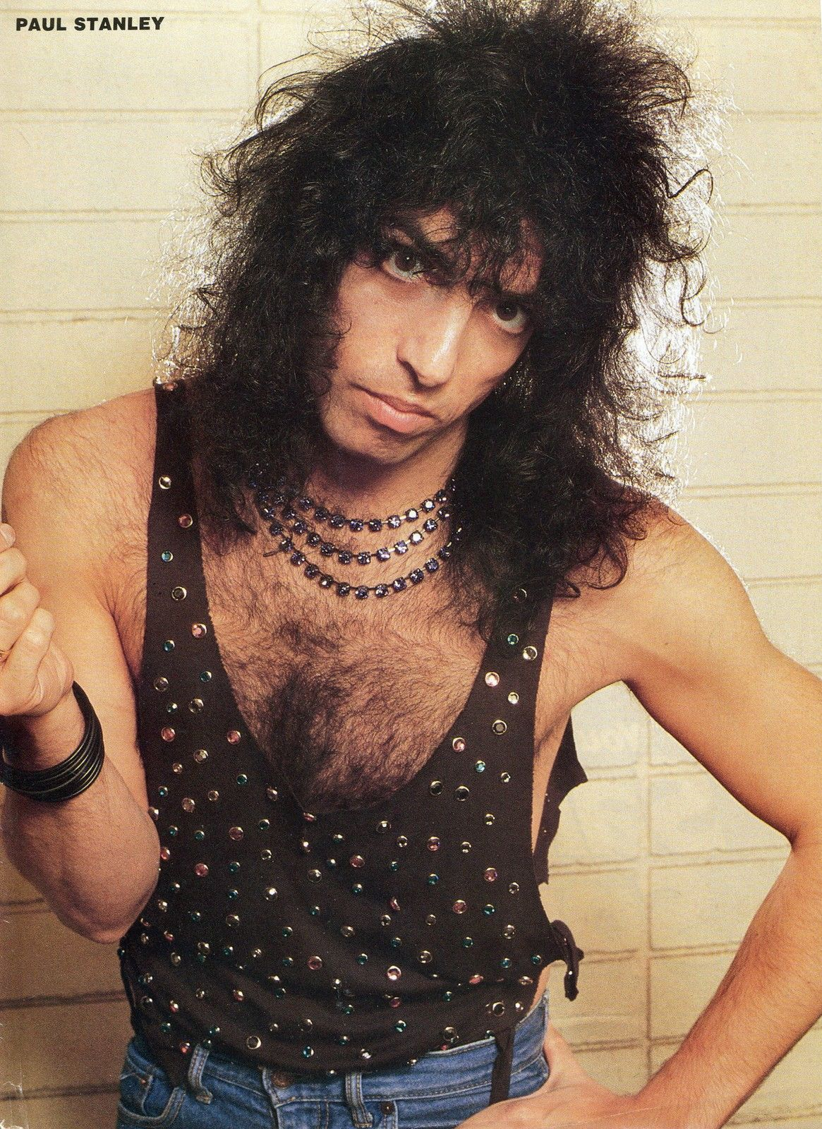 Paul Stanley Pinup clipping 80's Sexy Kiss | eBay | KISS ...