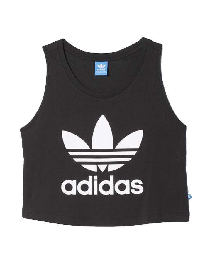 d5ba338a2782 Crop top Adidas - 32 cropped tops pour une allure sexy cet été ...
