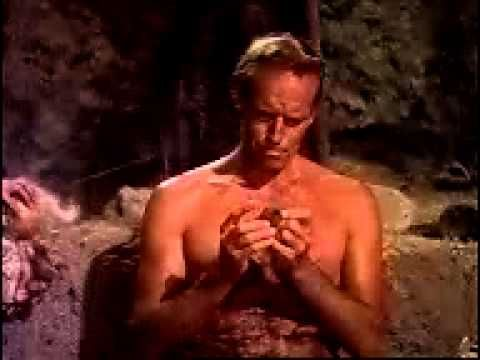 planet of the apes 1968- cave in the forbidden zone - YouTube