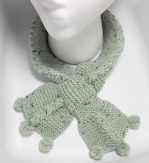 Bow Tie Cable Scarf Knitting Pattern PDF by ...