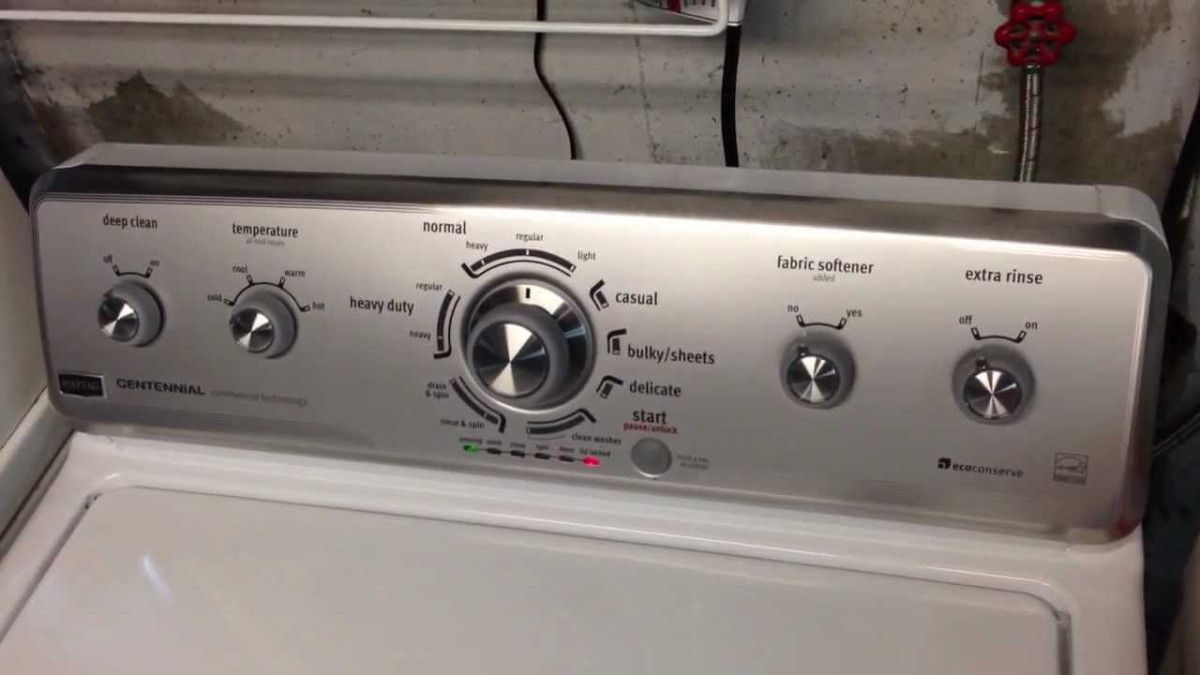 Review Of The Maytag Centennial Washing Machine Washer Mr And Mrs Washing Machine Washer Maytag Washing Machine Washing Machine Repair