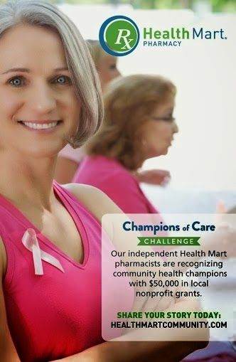My Work At Home World: Health Mart's Champions of Care Challenge! Win A Grant For Non-Profit In YOUR Community!