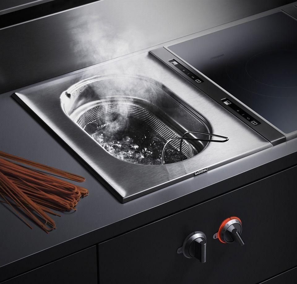 Luxury Kitchens · Vaporera Empotrada Gaggenau