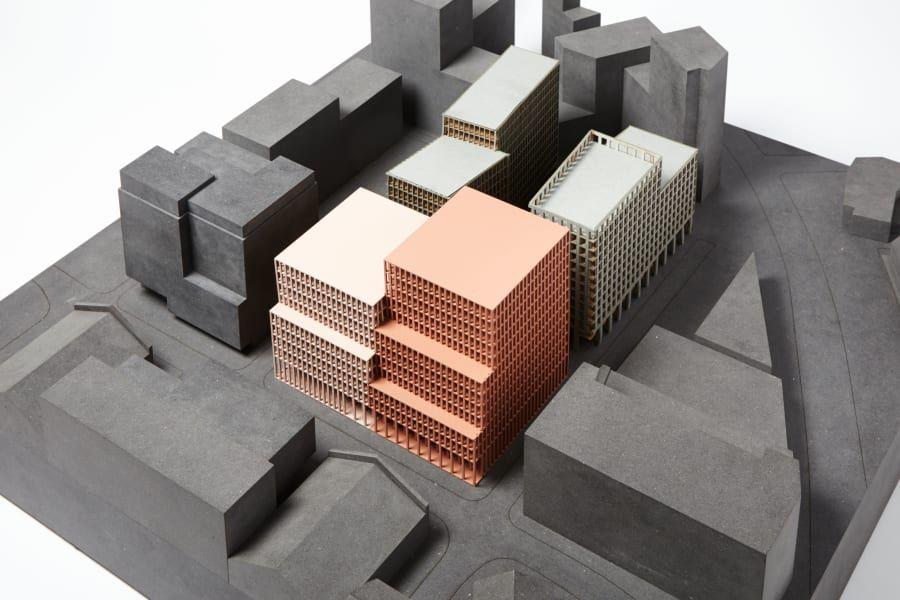 Duggan Morris Architects, Jack Hobhouse · R7 King Cross Maquetas