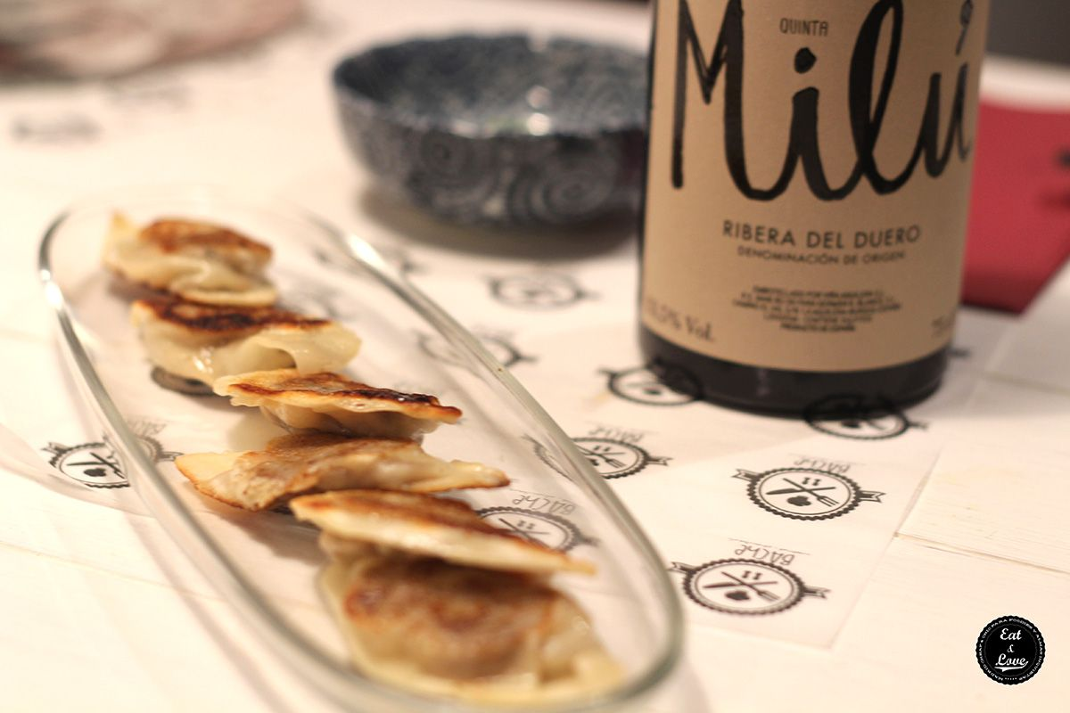 Gyozas de carrillera - Bache restaurante - Madrid