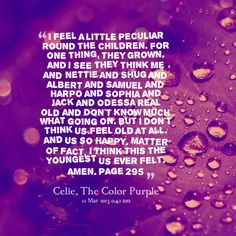 Color Purple Quotes Custom Harpo Color Purple Quotes  Google Search  The Color Purple  Pinterest