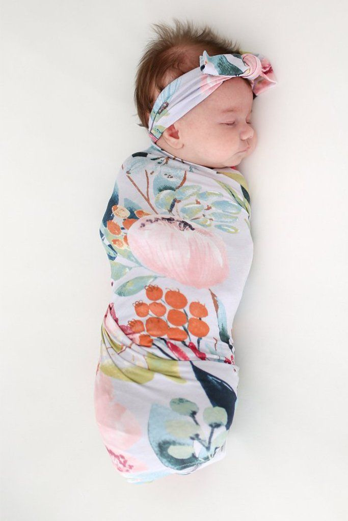 Forrest Queen Swaddle Amp Headband Set By Posh Peanut Best