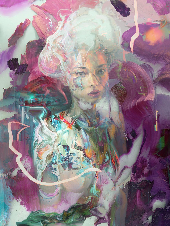 Jerome Birti  Digital Paintings