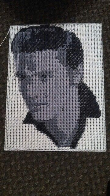 My Elvis Plastic Canvas Plastic Canvas Plastic Canvas