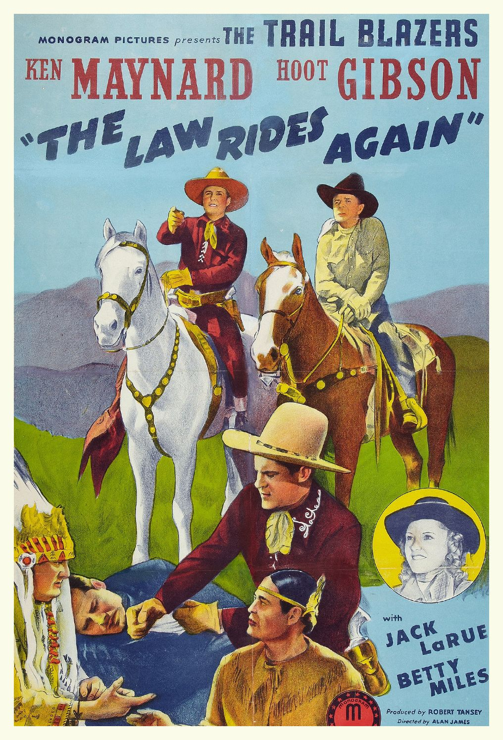 1943 The Law Rides Again