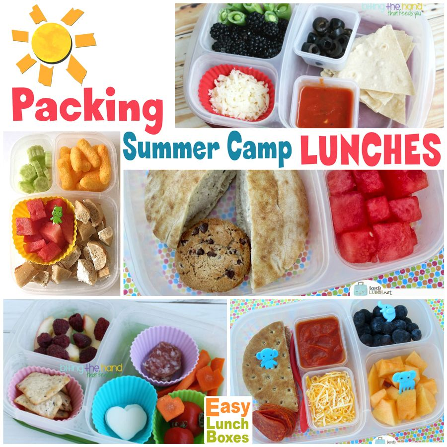 Packing Lunches For Summer Camp