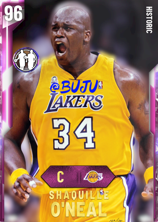 Shaquille O Neal Nba 2k20 Custom Card 2kmtcentral Shaquille O Neal O Neals Nba
